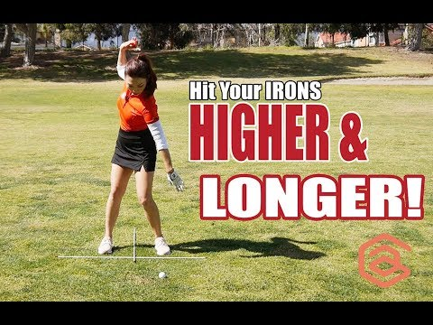 Hit Your Irons Higher & Longer! | Golf with Aimee