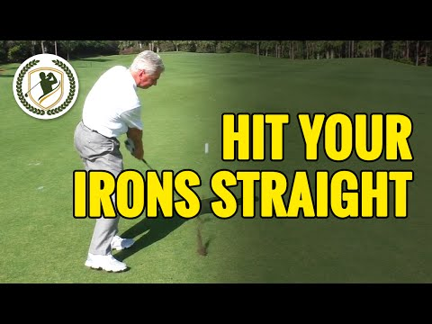 HOW TO HIT A GOLF BALL STRAIGHT WITH AN IRON – 3 MAIN FACTORS!