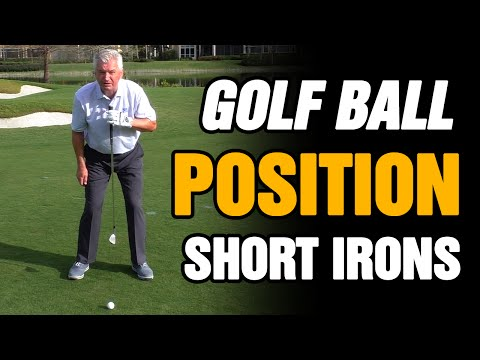 PERFECT GOLF BALL POSITION FOR YOUR SHORT IRONS EXPLAINED