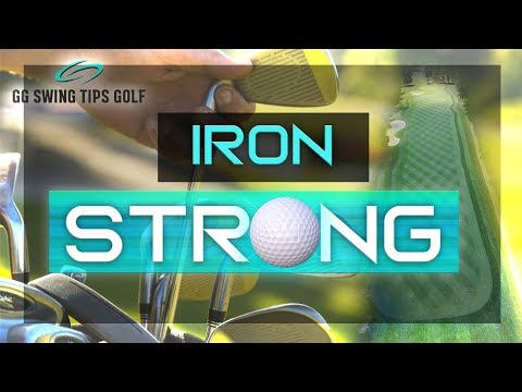 Simple Golf Setup For Hitting Irons Pure