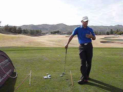 """Tour Striker – Hitting Draws """"Lefty"""" To Understand Path And Face – Martin Chuck"""
