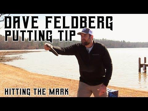 Dave Feldberg – Disc Golf Putting Tip – Hit the Mark