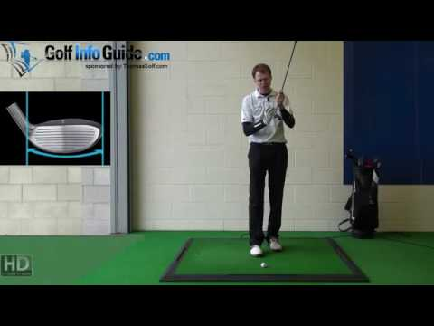 Left Hand Golf Tip Hybrid irons one swing at a time