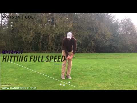 theHanger Golf Swing Aid: Chipping Tips