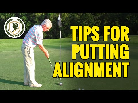 GOLF PUTTING TIPS – 2 TIPS FOR BETTER GOLF PUTTING ALIGNMENT