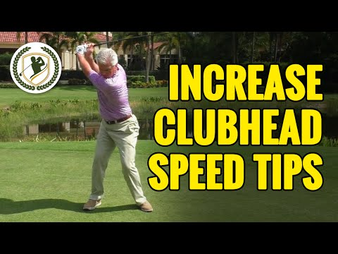 GOLF SWING TIPS – HOW TO INCREASE CLUB HEAD SPEED