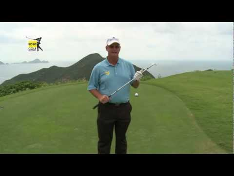 Golf tips from the pro: Sandy Lyle tip 3 (chipping distance control)