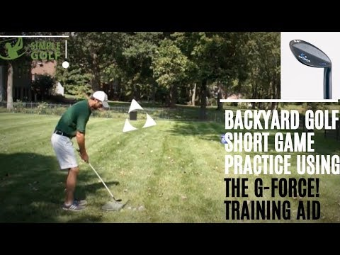 Golf Backyard Practice Game And Stop Chipping Yips With The G-Force Training