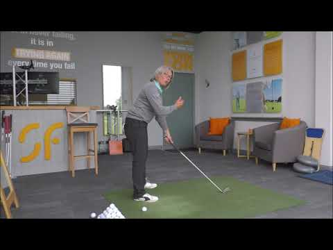 Why & how to flatten your left wrist at the top of your back swing