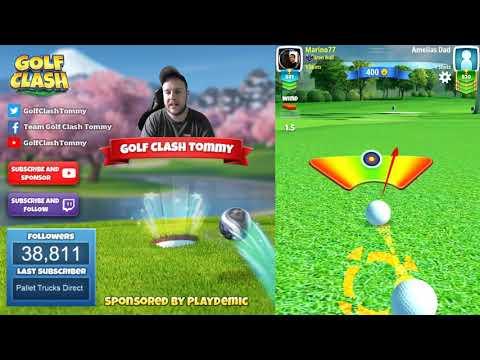 Golf Clash tips, Hole 5 – Par 5, Santa Ventura – Tropic Kings Tournament – ROOKIE Guide