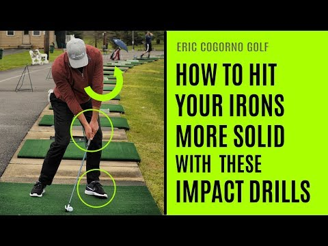 GOLF:  How To Hit Your Irons More Solid With These Impact Drills