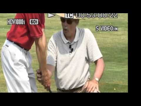 Golf Instruction: Angle Between Club Shaft and Arms