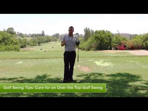 Best cure for over the top golf swing