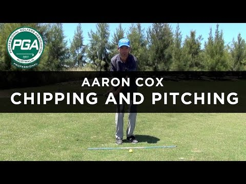 SMOOTH CHIPPING AND PITCHING ACTION   Aaron Cox   PGA TV