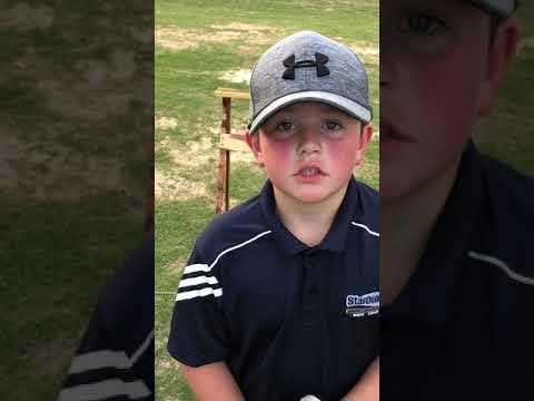 Hayden Nall – Golf: Driver Practice