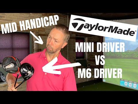 Taylormade Original One Mini Driver vs Taylormade M6 Driver – MID HANDICAP TEST