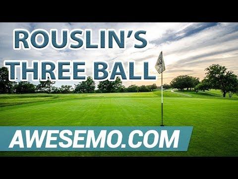 PGA DFS Picks – Wells Fargo Championship – Rouslin's Opening Three Ball – DraftKings FanDuel
