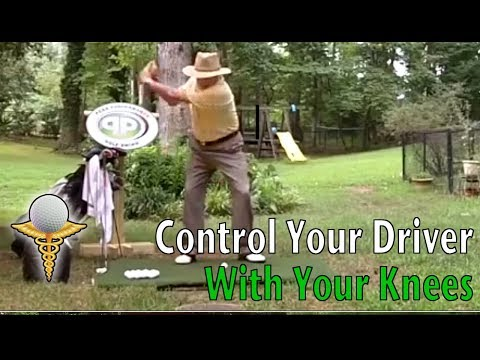 Golf Tips – Control Your Driver With Your Knees to Improve Your Driving Distance