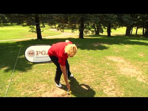 Professional Golf Tip: Hit Through the Ball – Sweeping Irons