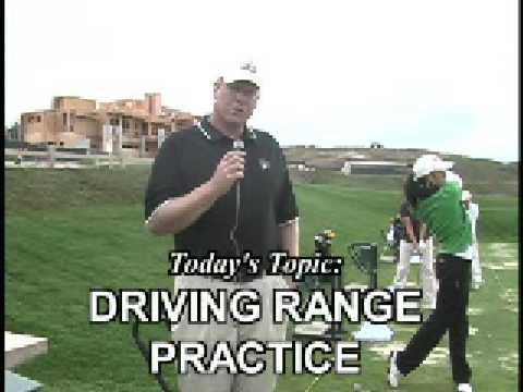 Golf Tips: Driving Range Practice