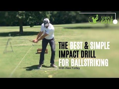 Golf Impact | Best Ballstriking With Pre Set Impact Drill