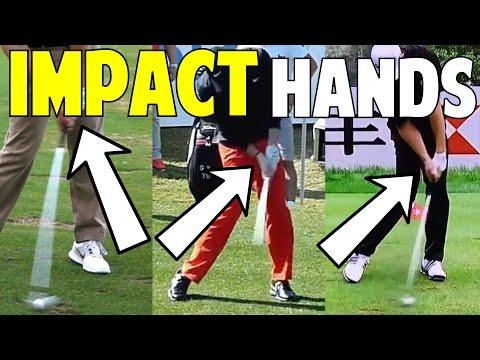 Golf Hands at Impact