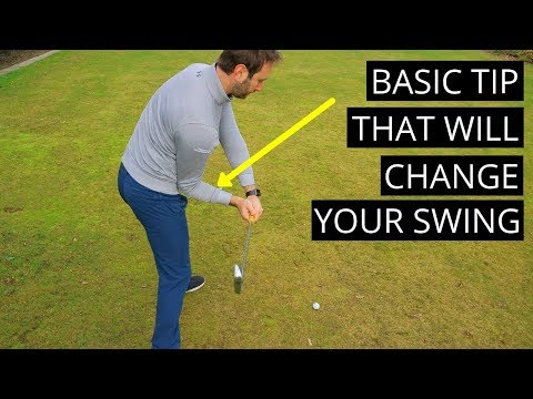 GOLF SWING TIP HOW TO PERFECT YOUR RIGHT ELBOW MOVE IN DOWNSWING