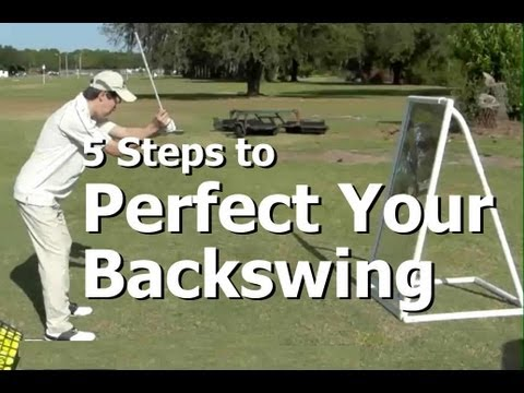 How To Practice Golf at the Driving Range – The Backswing