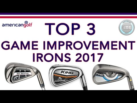 TOP 3 Game Improvement irons in 2017 | Review | American Golf