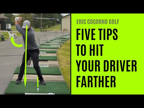 GOLF: Five Tips To Hit Your Driver Farther