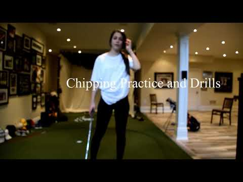 Chipping and Putting drills and tips with special guest star