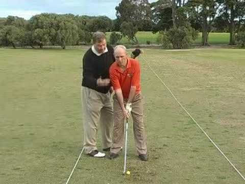 Golf – Senior Male Golf Lesson. Presented by Golfzone.