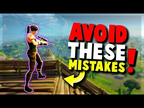 9 Common Mistakes New Players Make – FORTNITE Battle Royale | Tips and Tricks