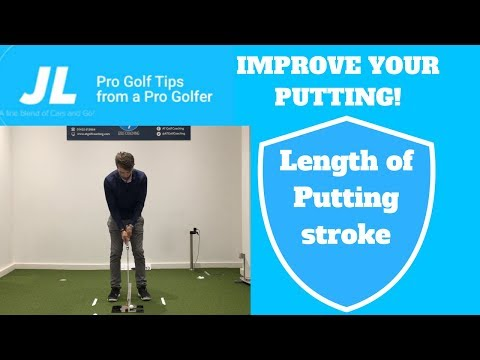Length of Putting Stroke Golf Tip! *Improve your putting!*