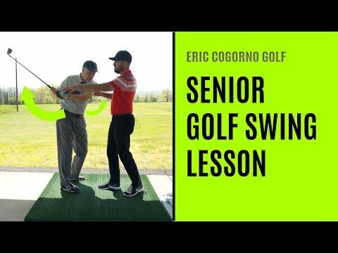 GOLF: Senior Golf Swing Lesson