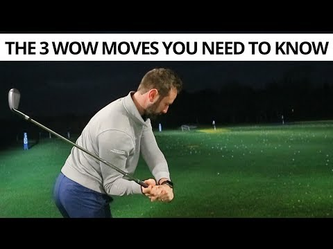 THE 3 WOW MOVES OF EVERY PROFESSIONAL GOLF SWING