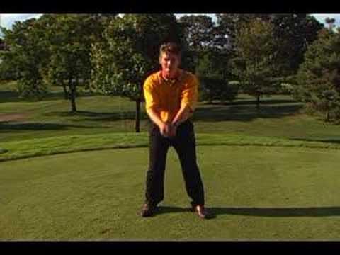 Golf Tip: Backswing: Arm Movement; Steven Bann