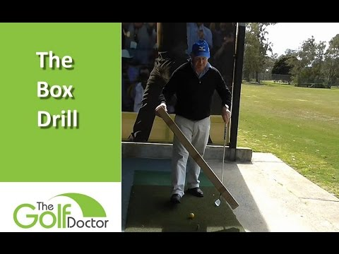 Improve Your Swing Path With The Golf Box Drill.