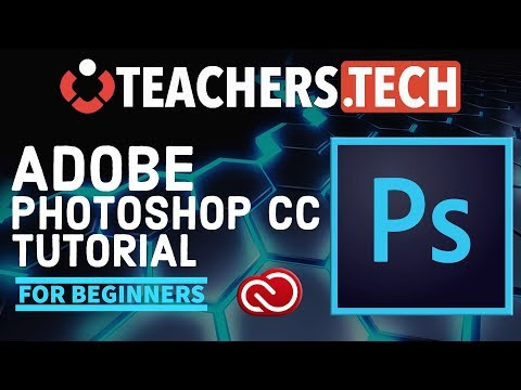 Photoshop CC 2018 Tutorial – Designed for Beginners