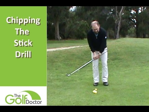 Improve Your Chipping With The Chipping Stick Drill