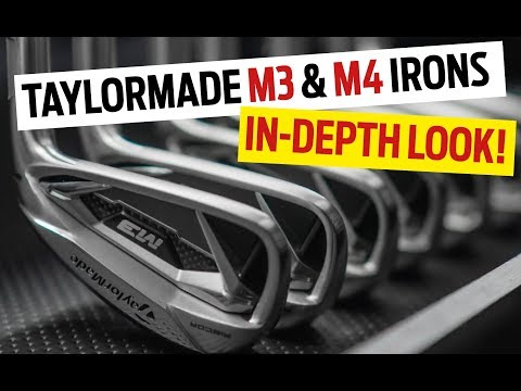 TaylorMade M3 & M4 irons  – Everything you need to know!