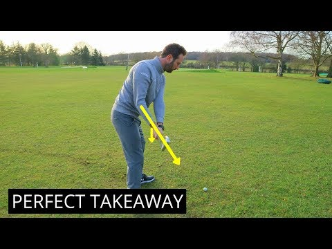GOLF TIPS FOR THE PERFECT TAKEAWAY IN YOUR GOLF SWING
