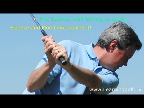 The Easiest Golf Swing to Learn – Science proves it – Setup 4 Impact