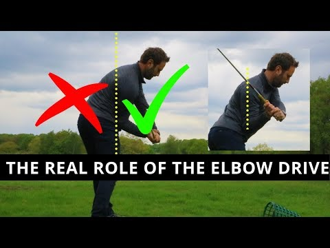 THE REAL REASON FOR THE ELBOW DRIVE IN THE GOLF SWING