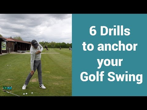 6 Exercises to anchor your golf swing.