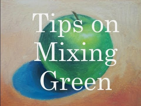 Beginner's Guide to Mixing Green in Painting