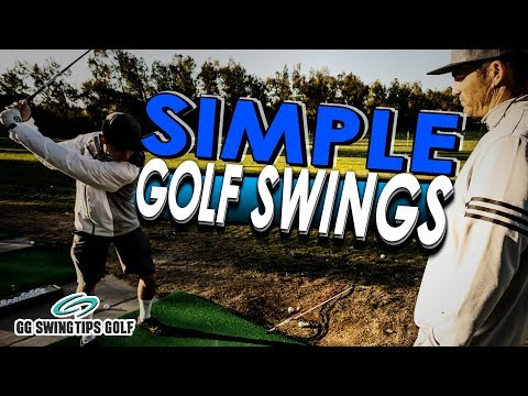 GG's Simple Golf For Beginners Swing Tips