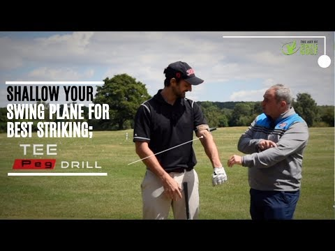 Golf Swing Plane Shallow Drill For Consistent Ball Striking Simple Fun Drill