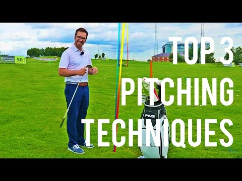Top 3 Golf Tips – THREE PITCHING TECHNIQUES TO TRY