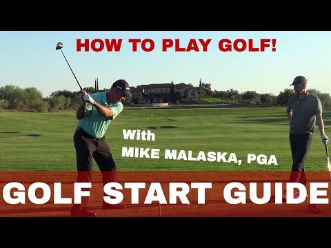 HOW TO START PLAYING GOLF: MALASKA BEGINNER GUIDE
